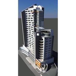 apartment building concept