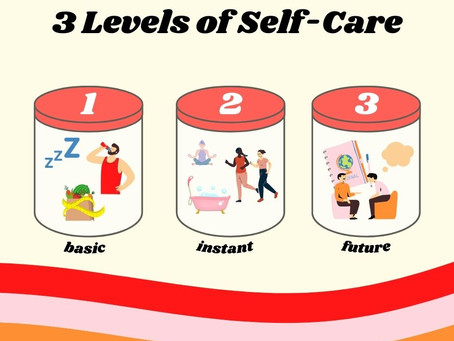 The 3 Levels of Self-Care