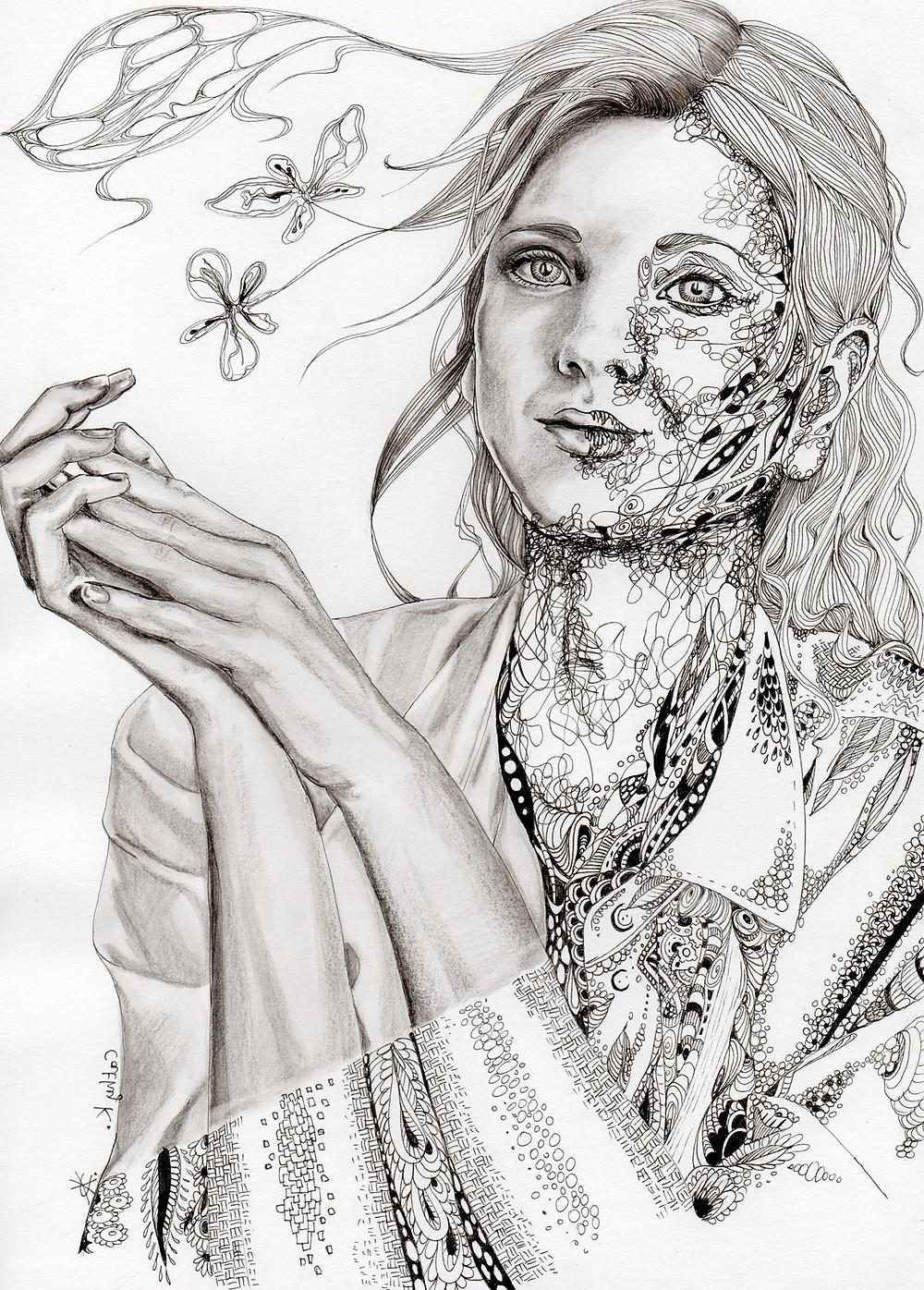 art by Cathy Keustermans