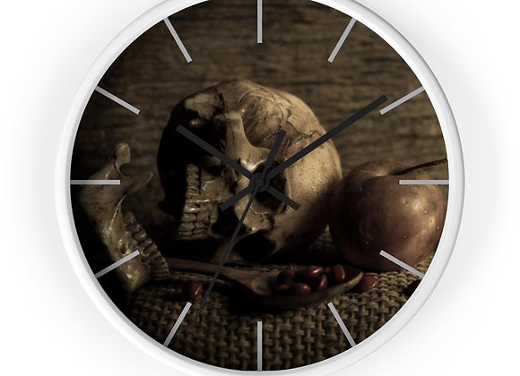 Deadly Hunger Wall clock