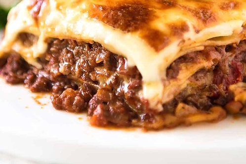 Beef Lasagne (Serves 2 people)