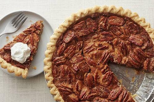 Pecan-nut tart slice