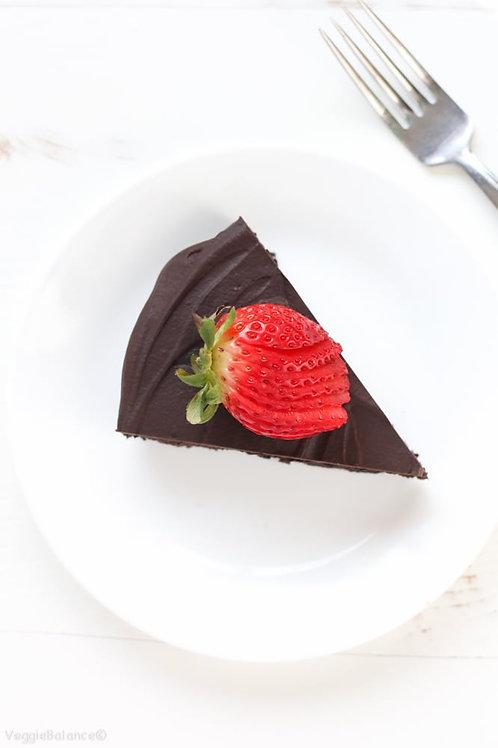 Chocolate Cake Slice (Gluten & Sugar Free)
