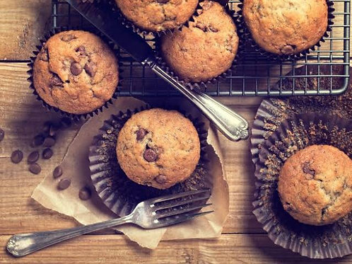 Large Coffee Muffins (6)