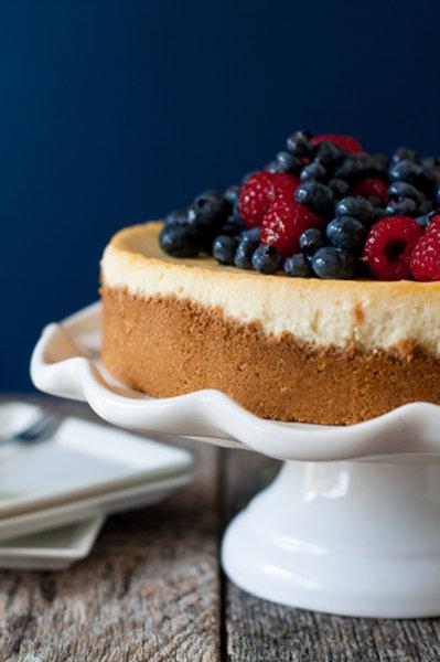 8 Slice Baked Cheesecake