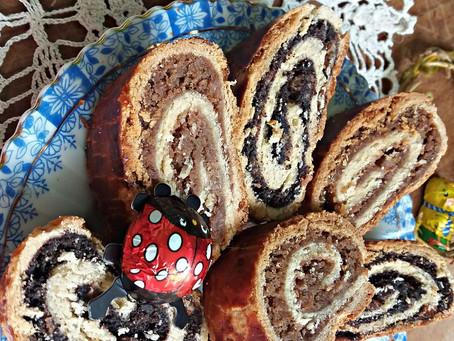 Baigli cu nucă și mac sau prăjitura de sărbătoare a bunicii