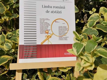 Limba română de a(stă)zi, Emina Căpălnășan, Junimea, Iași, 2019
