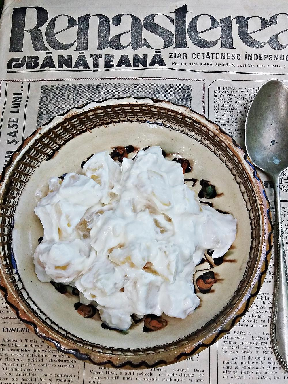 Salată de cartofi cu smântână - Fotografie: Oana Pavăl (Bîrgăoanu)