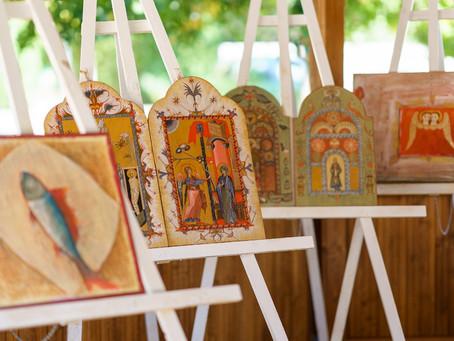 Două expoziții jimboliene la Periam cu ocazia Nașterii Maicii Domnului