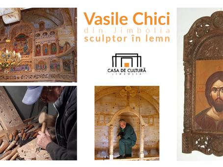 Vasile Chici - sculptorul a 15 iconostase - stabilit în Jimbolia