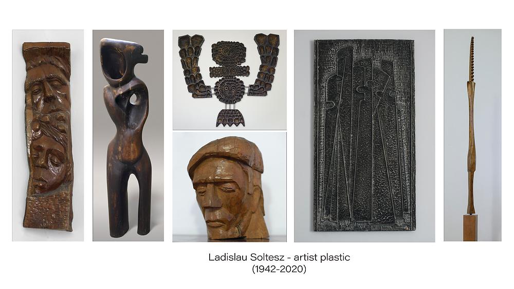 Câteva lucrări realizate de artistul plastic jimbolian Ladislau Soltesz