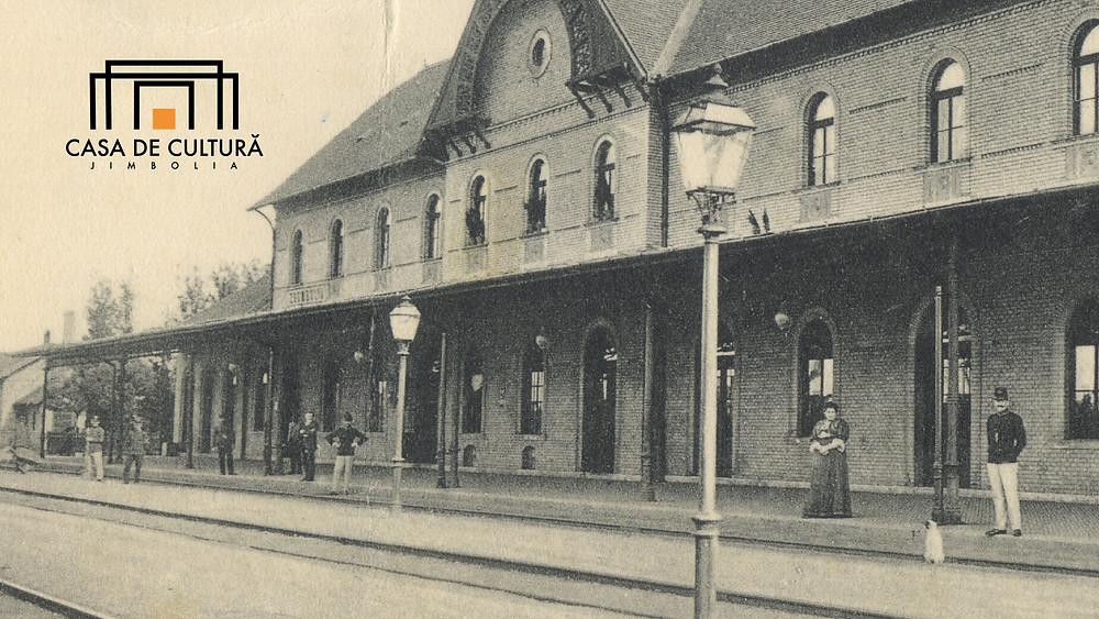 Perlstein; Gara Jimbolia, 1908, Casa de Cultură a Orașului Jimbolia, Colecția Sergiu Dema