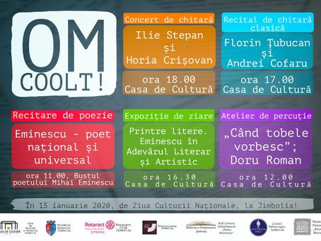 Ziua Culturii Naționale la Jimbolia. De ce să participi și tu?