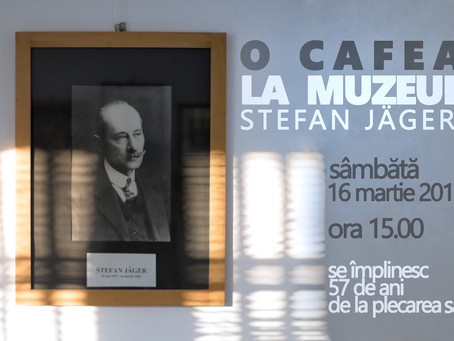 O cafea la Muzeul Stefan Jäger