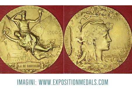 Trei medalii de aur pentru Endre Csekonics în 1900, la Expoziția Universală de la Paris