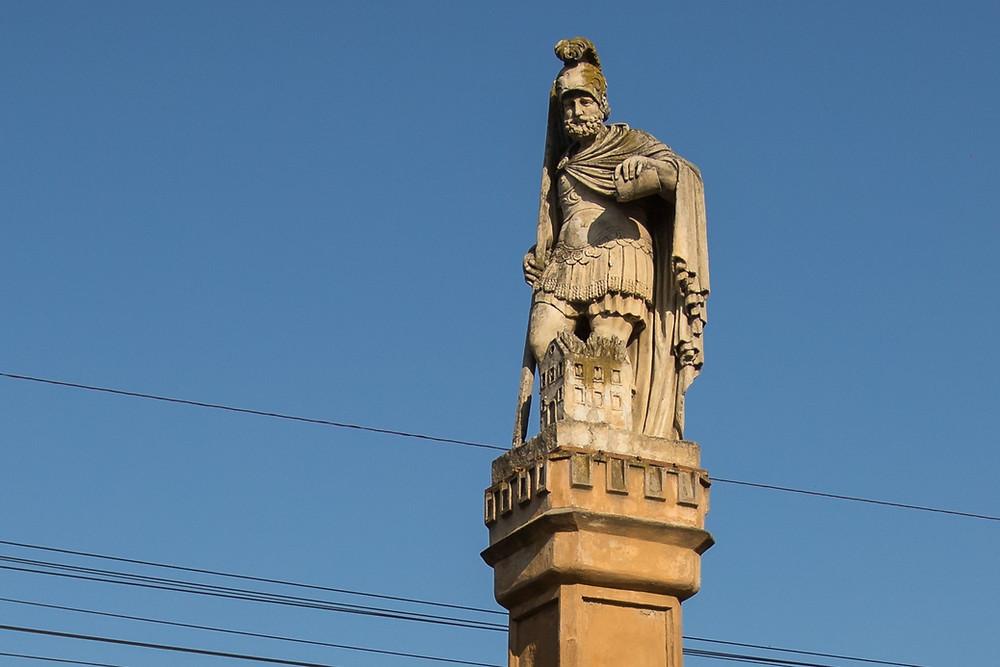 Statuia Sfântului Florian- Jimbolia - Imagine: Sergiu Dema