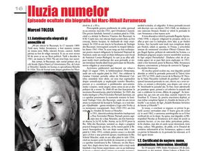 """De citit: Marcel Tolcea despre Părintele Avramescu în revista """"Orizont"""", nr. 1, ianuarie 2021"""