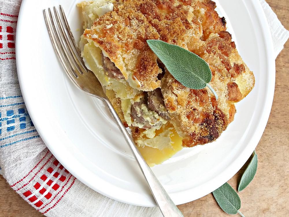 Französische Kartoffel sau cartofi franțuzești la cuptor - Fotografie: Oana Pavăl (Bîrgăoanu)