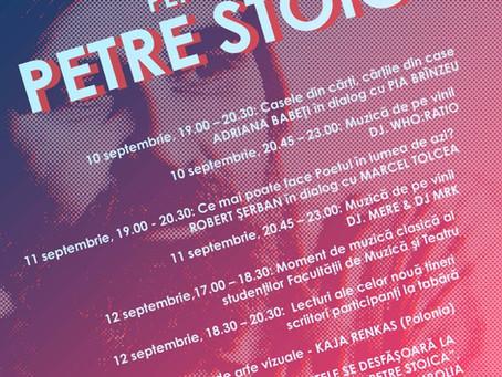 """În 10-12 septembrie Jimbolia va fi gazda primei ediții a Taberei de creație literară """"Petre Stoica"""""""
