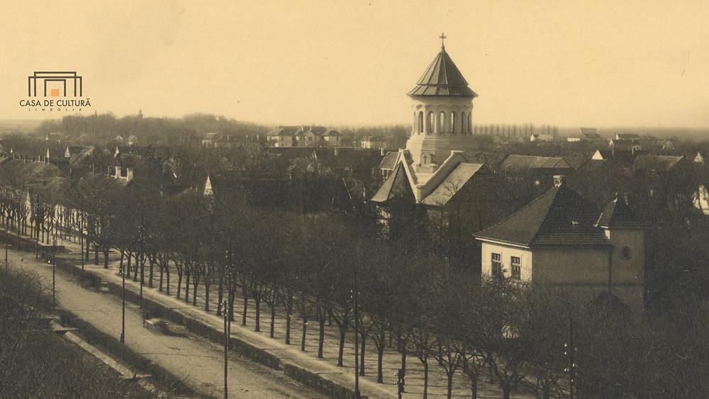 Biserica Ortodoxă Jimbolia; Casa de Cultură a Orașului Jimbolia