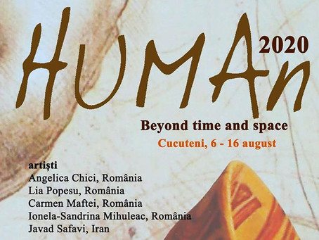 """Angelica Chici participă la Simpozionul Internațional de Arte Vizuale """"HUMAn"""" de la Cucuteni"""