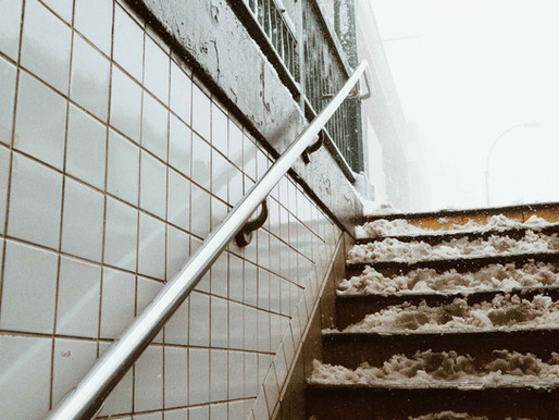 Who is Liable for Icy Subway Steps in New York?