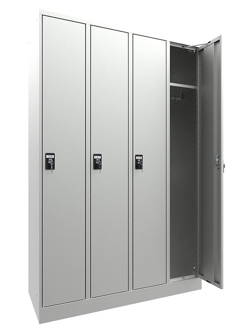 Garderobenschrank I10 mit 4 Abteilen
