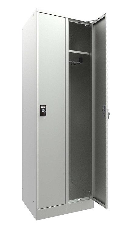 Garderobenschrank I10 mit 2 Abteilen