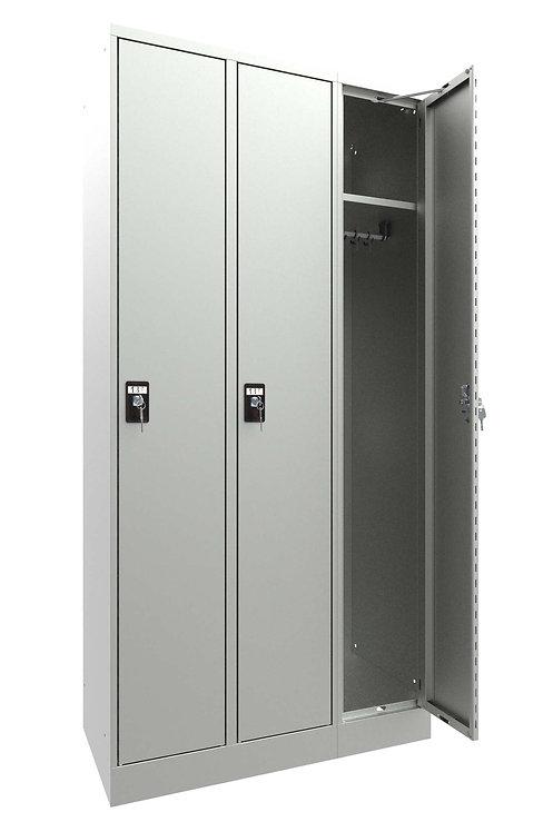 Garderobenschrank I10 mit 3 Abteilen