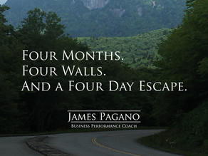 Four Months. Four Walls. And a Four Day Escape.