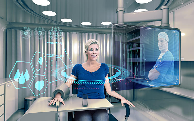 Virtual Health-care Room
