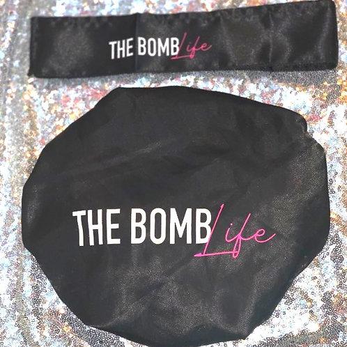 Satin Bonnet & Wrap Package