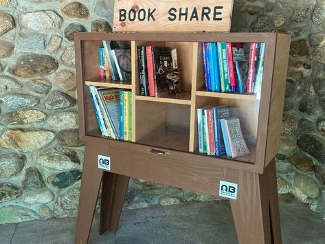 Book Sharing Comes to Lang Station!