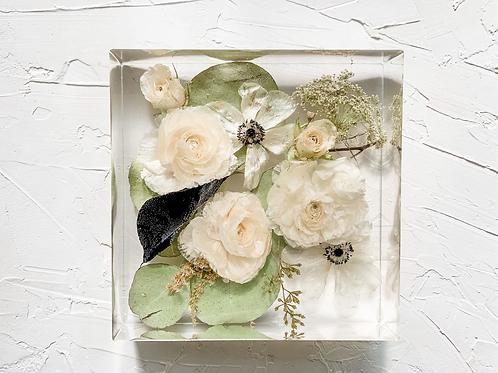 "6"" Square Bouquet Flower Preservation"