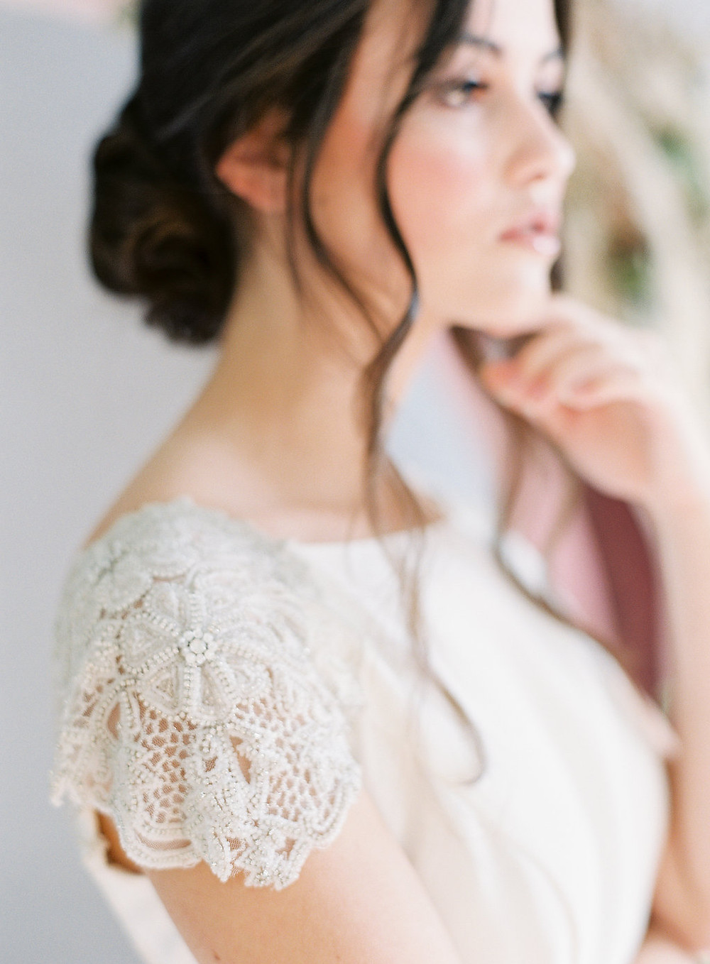Modern, Boho Sleeve Details - Wedding Dress