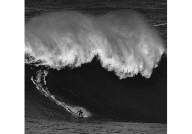 Irish Big Wave Surfer Al Mennie Surfing
