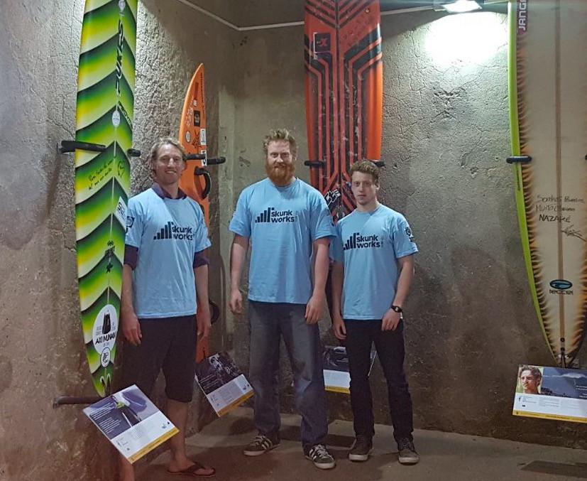 Al Mennie, Nazare, Surfer Wall