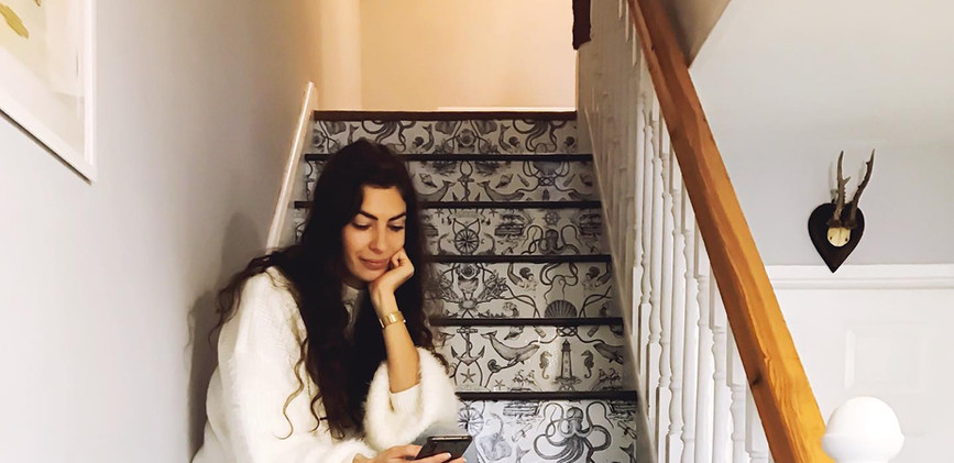 gemma on the stairs.jpg