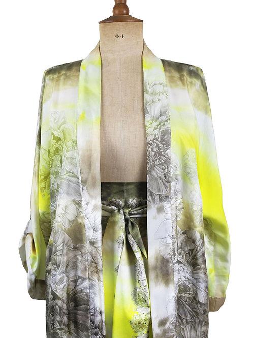 Queen Medb Silk Twill Kimono