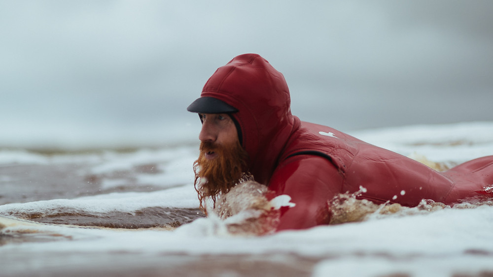 Al Mennie, surfer, ireland, northern ireland, portballintrae, ben ono, irish man, beard
