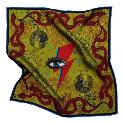 Morrigan Pocket Square