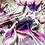 Thumbnail: Eadach Pirate Queen Sunrise Print Oversized Scarf by Sara O'Neill