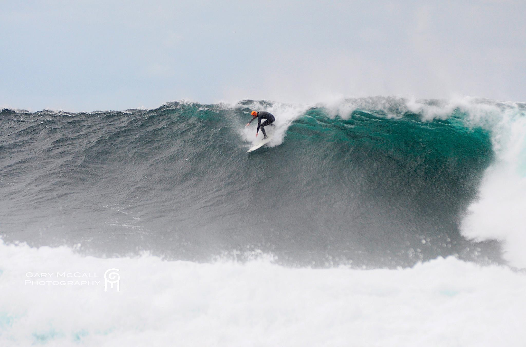 Al Mennie big wave surfing, ireland