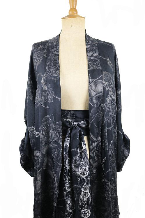 Roisin Dubh Silk Twill Kimono
