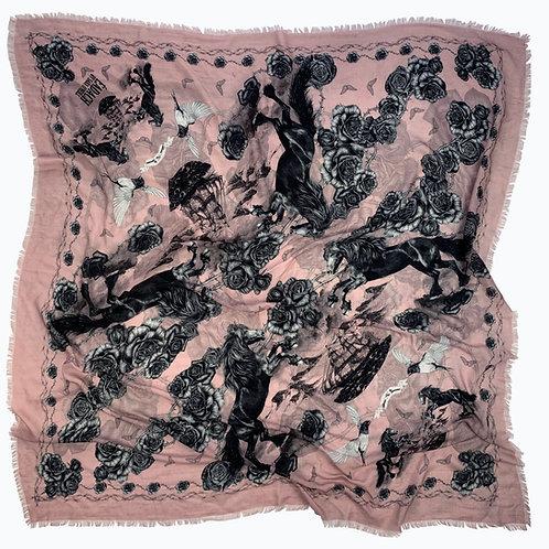 Roisin Dubh Merino Wool Scarf