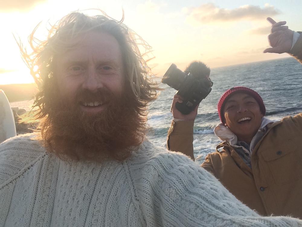 Al Mennie, Ben Ono, Irish Man, beard, outdoors, ireland