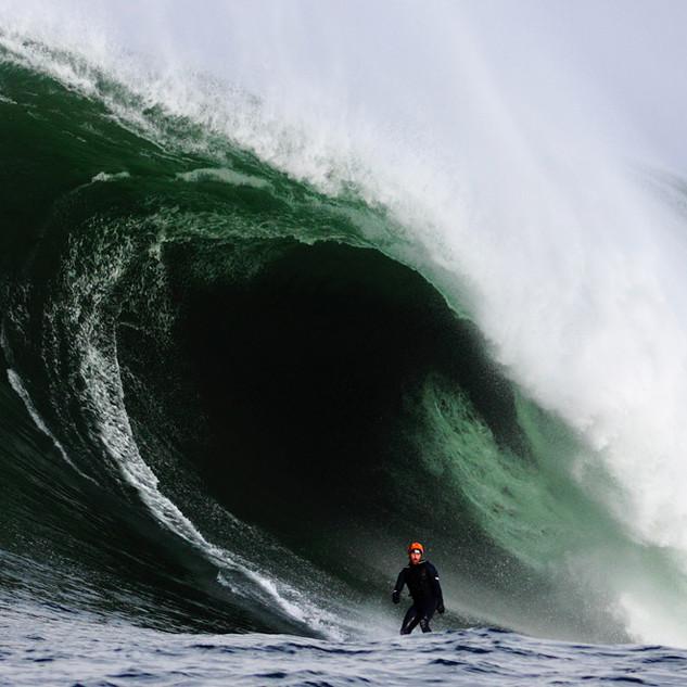 Al Mennie Big Wave Surfer