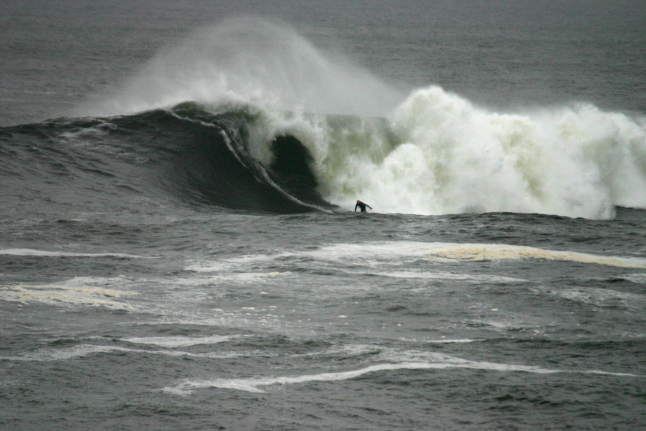 Al Mennie, Ireland, surfing