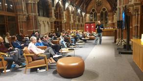 Speaking at Queens University Belfast N.I.
