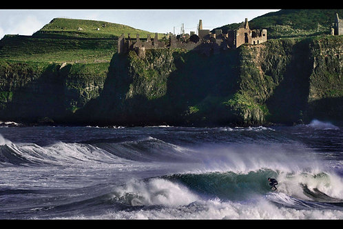 Force of Nature- Dunluce Surfer Limited Edition Print